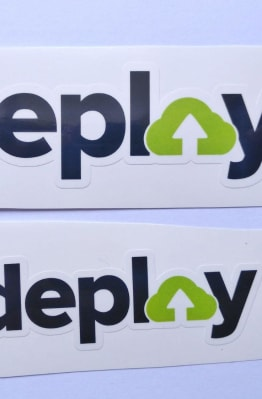 Stiker Deploy -  Vinyl Cut 1
