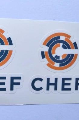Stiker CHEF -  Vinyl Cut 1