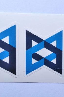 Stiker Backbone-  Vinyl Cut 1