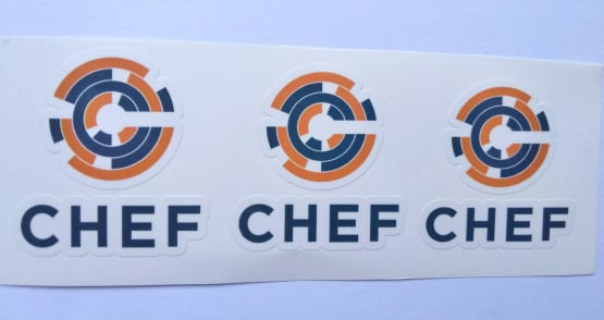 Stiker CHEF -  Vinyl Cut 2