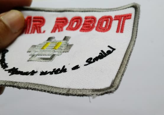 Patch Emblem Mr Robot dan Fsociety 6