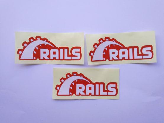 Stiker Rails - Vinyl 2