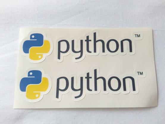 Stiker Python - Vinyl 2