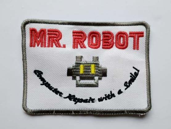 Patch Emblem Mr Robot dan Fsociety 7