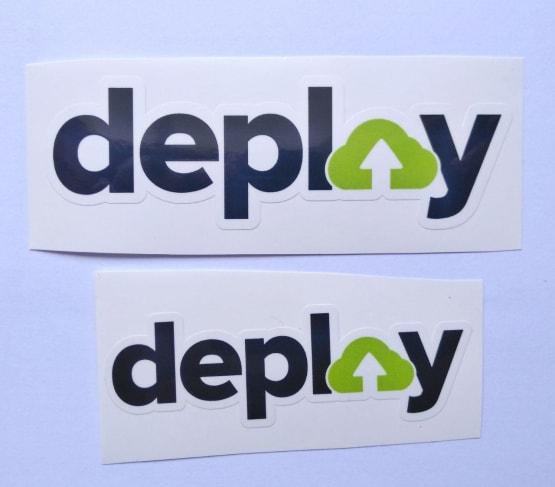 Stiker Deploy -  Vinyl Cut 2