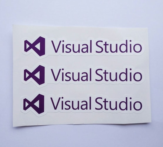 Stiker Visual Studio  - Vinyl Cut 2