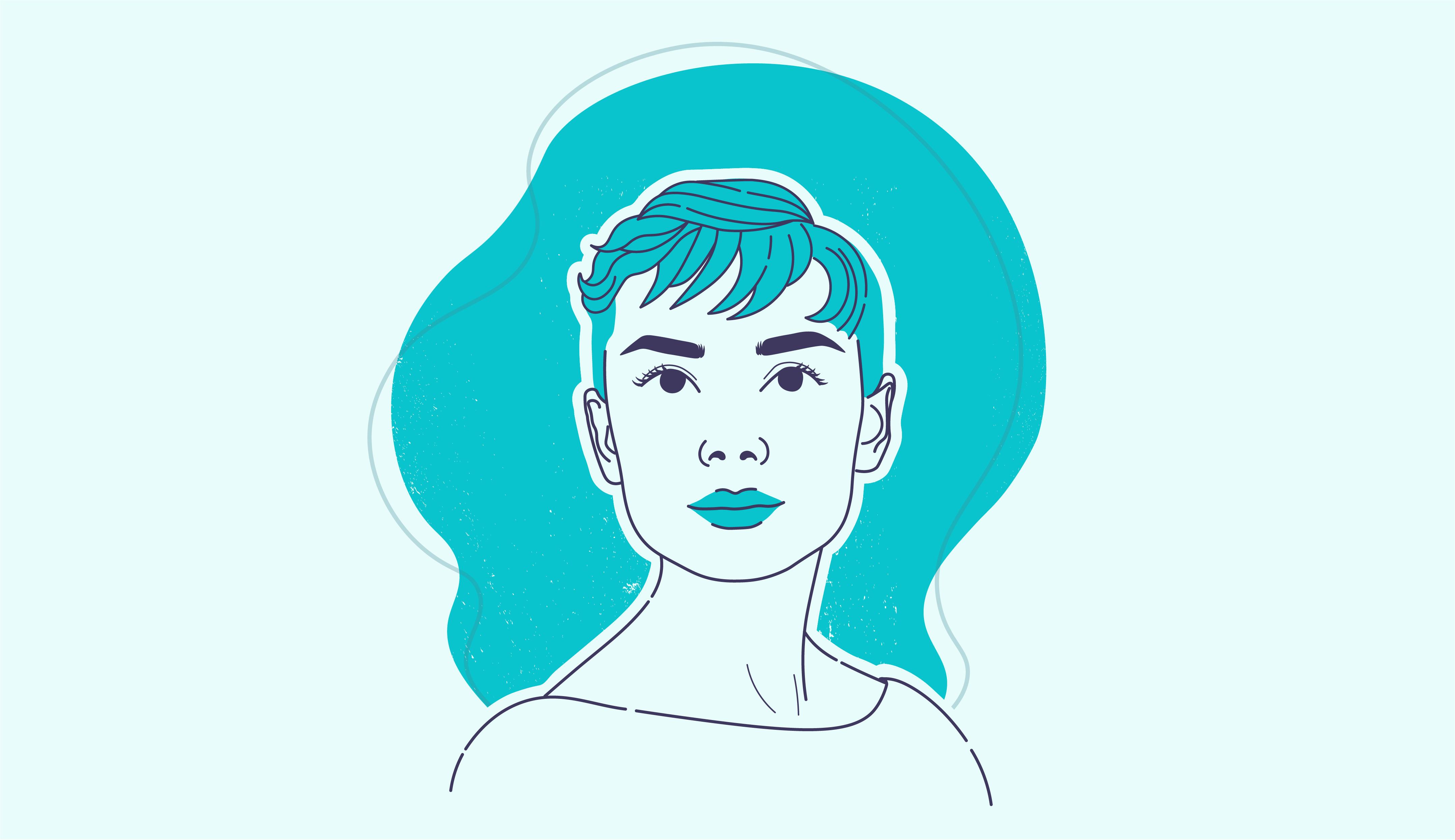 Portrait of Audrey