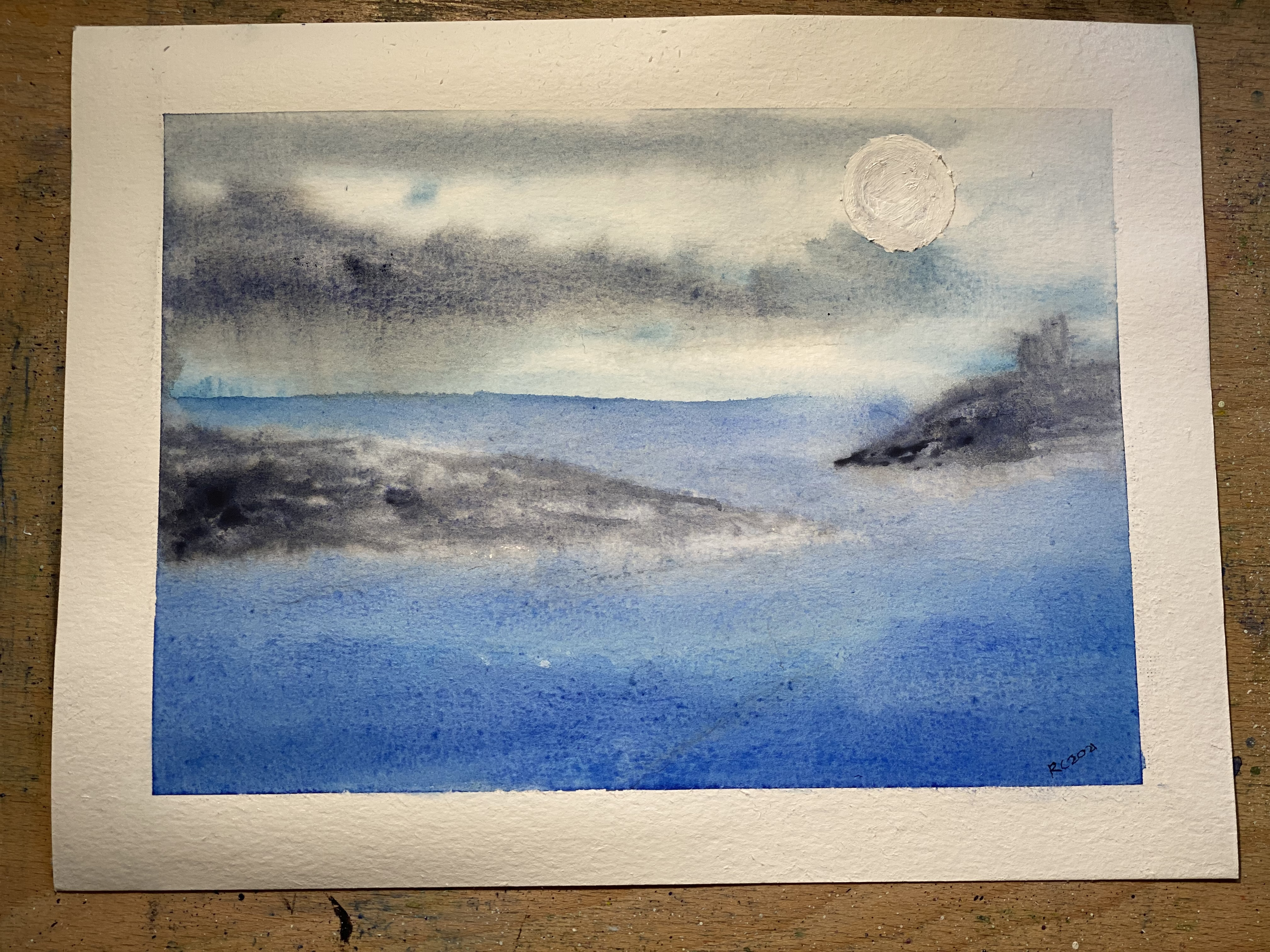 Atmospheric Seascape