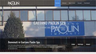 SinerWeb® website gaetanolpaolin.it