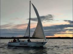 Участники Соловецкой парусной регаты дошли до легендарного архипелага
