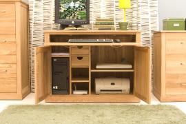 Oak Hideaway Desk