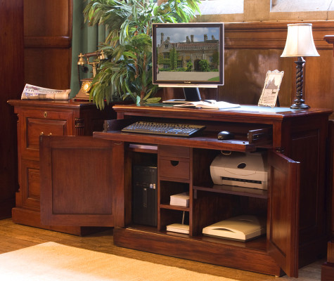 Charming MAHOGANY · Reclaimed Home Office Furniture