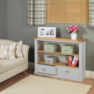 Chadwick low bookcase