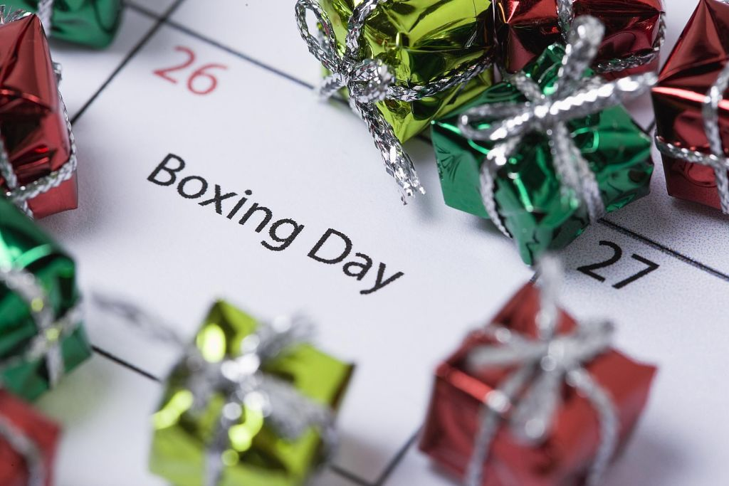 Boxing Day sale - coming soon!
