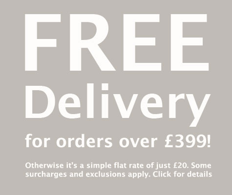 Free delivery on most orders over £399