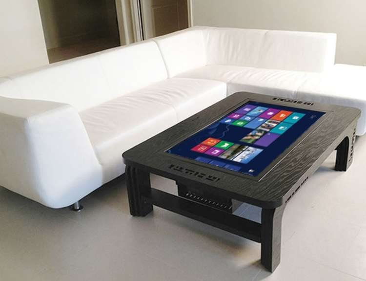 The coffee table that's a tablet
