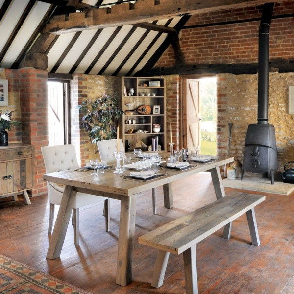 6 tips to give your dining room a cosy, rustic feel