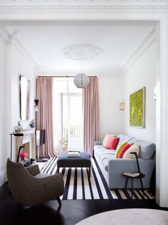 9 design ideas tio maximise a small living room