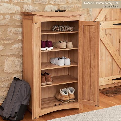 Roscoe contemporary oak collection
