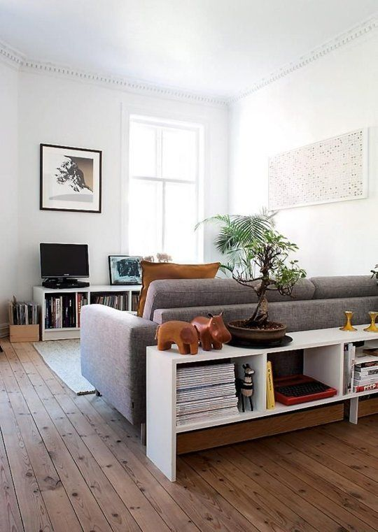 12 ideas to maximise space in a small living room