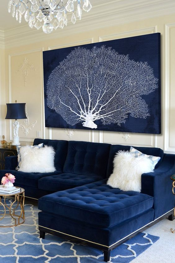 Ways to use blue in your home