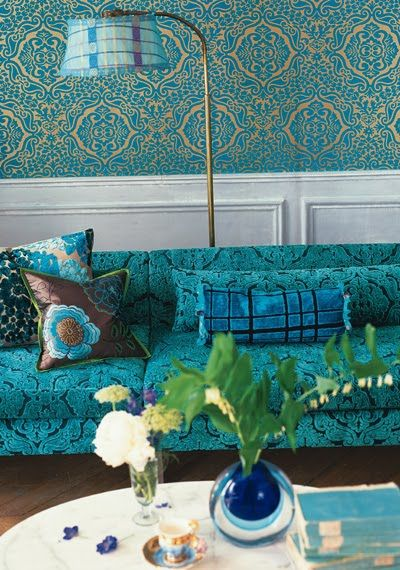 How to use blue in your interior