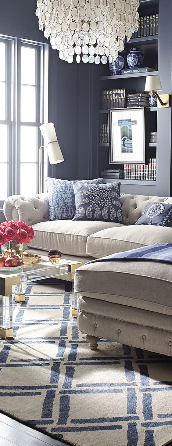 Ideas on how to use blue in your home