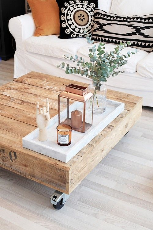 12 ways to style the perfect coffee table
