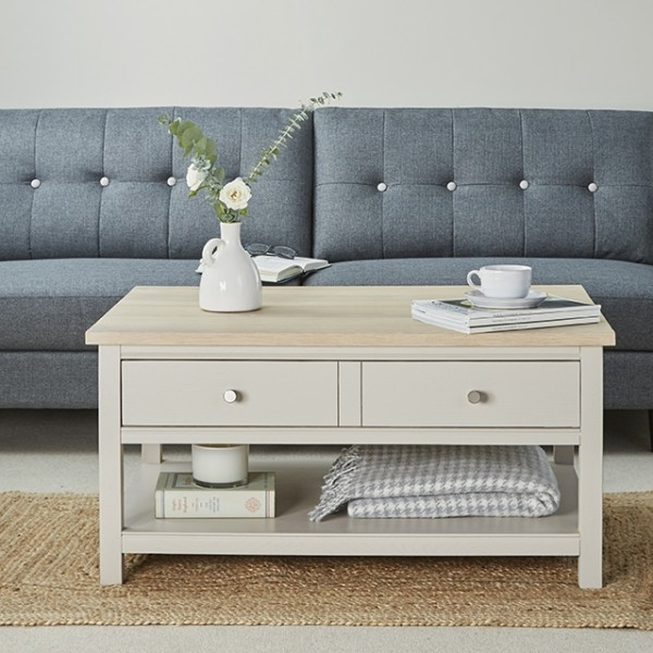 Rushbury Painted coffee table