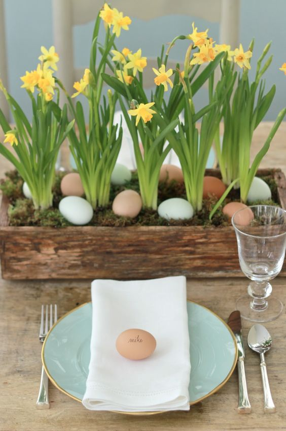 12 ways to give your Easter table WOW!