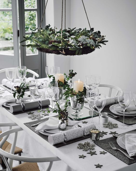 Trends to create a sparking Christmas table