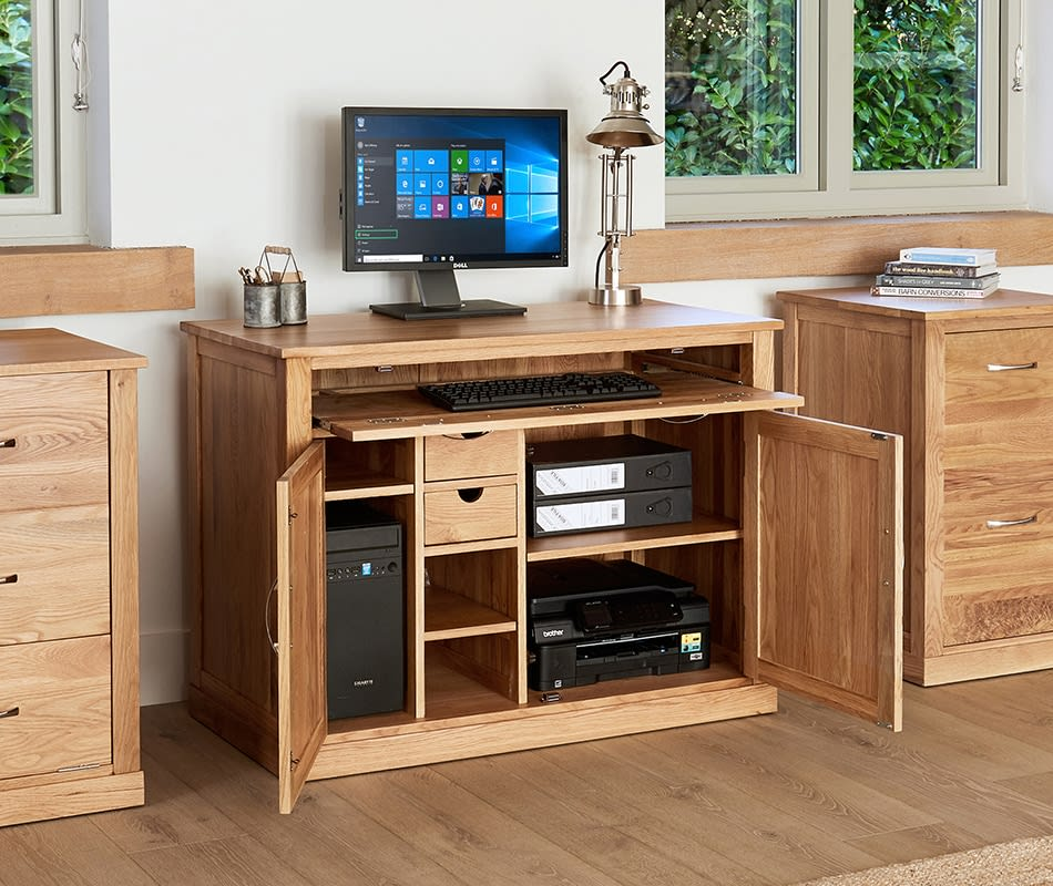 Home Office Furniture At Wooden, Wooden Desks For Home Office