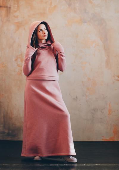 Комплект: худі та сукня