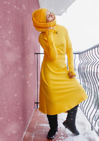 ТУБА-сукня з асиметричним подолом