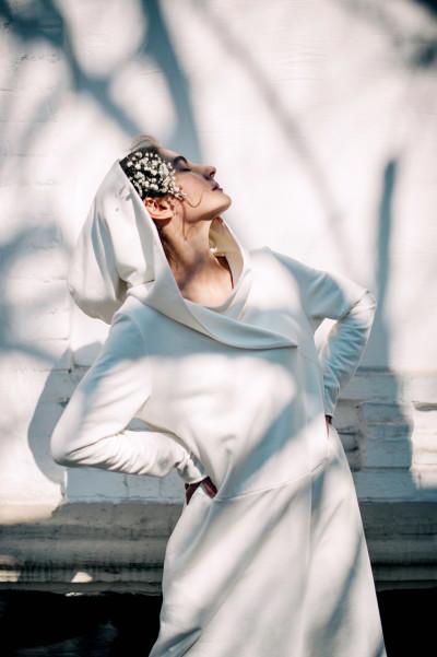 Сукня з капюшоном ФЛОРА