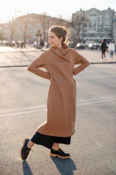 Сукня з воротом ФЛОРА