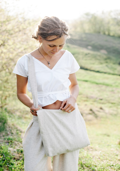 Блуза з органічної бавовни