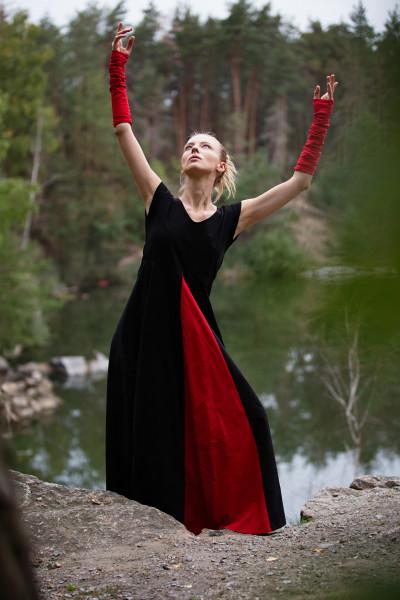 Сукня з клином