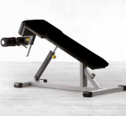 Plate Loaded Outdoor Series Abdominal Decline Bench