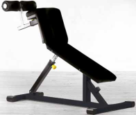 Plate Loaded Outdoor Series Bent Leg Abdominal Bench