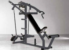 Plate Loaded Outdoor Series Incline Chest Press Konvergierend
