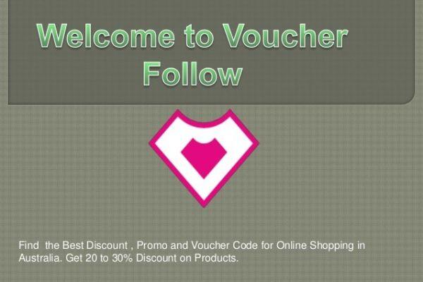 voucher follow online shopping discount promo code australia 1 638