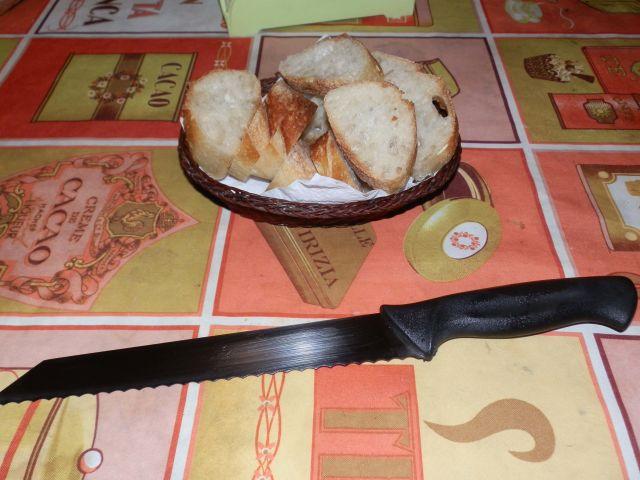 Coltello pane Easy Line Premax per fette di pane perfette