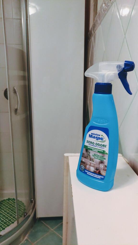 Mister Magic, Zero Odori Ambienti e Tessuti per eliminare il cattivo odore
