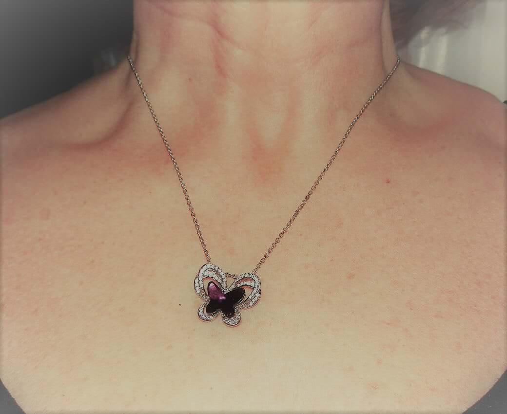 Fata Farfalla: Collana Pendente Donna di KATE LYNN