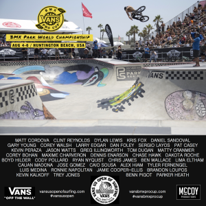 2017 Vans BMX Pro Cup World Championship at Vans US Open