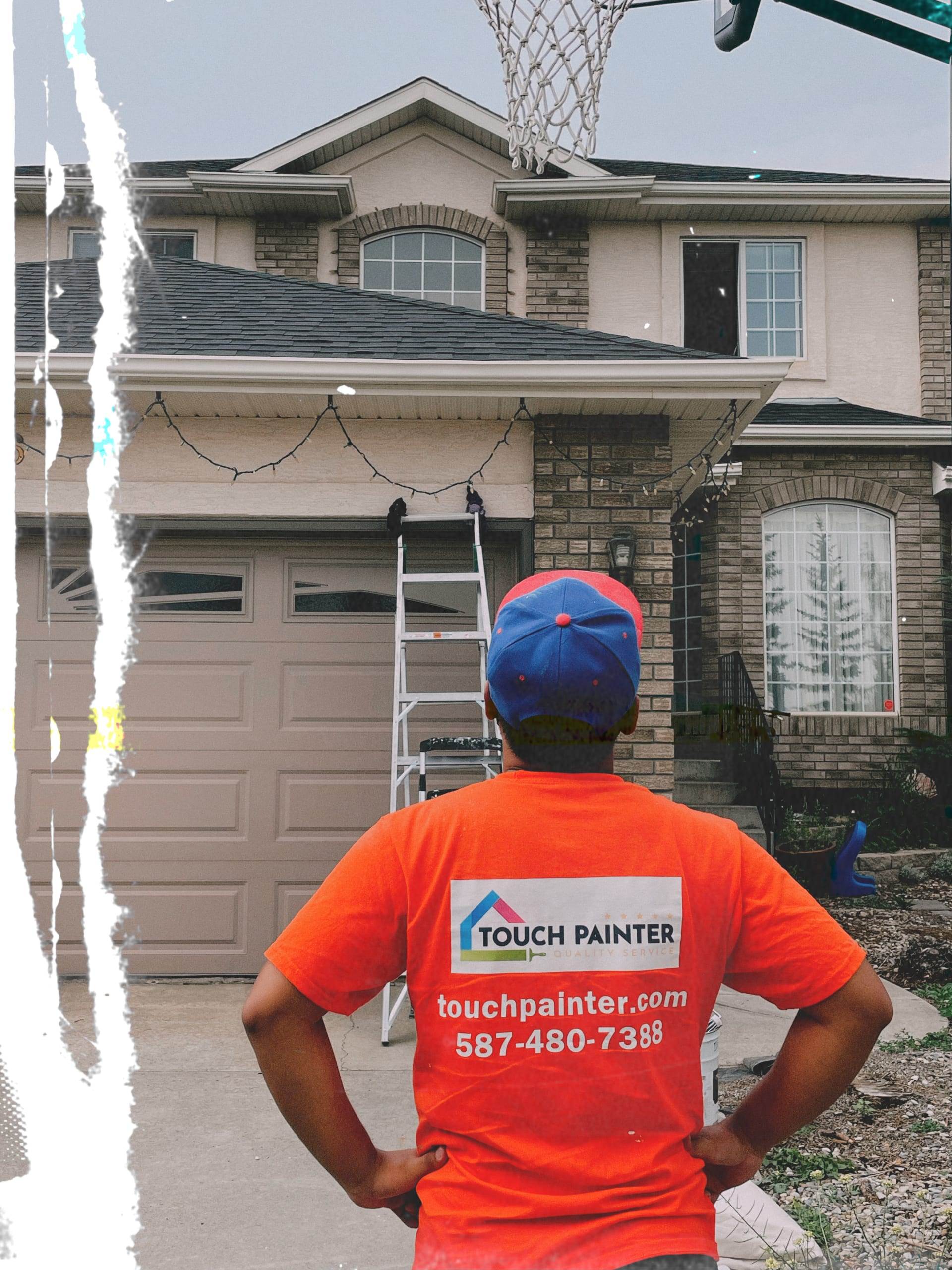 Painting Giving House Estimate