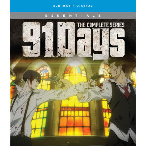 91 days   the complete series 2d bd box art