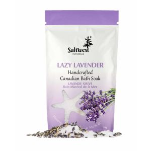 Saltwest lazy lavender bath soak