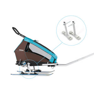 Croozer ski adapter kit feet